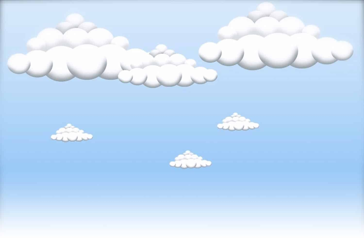 CartoonClouds