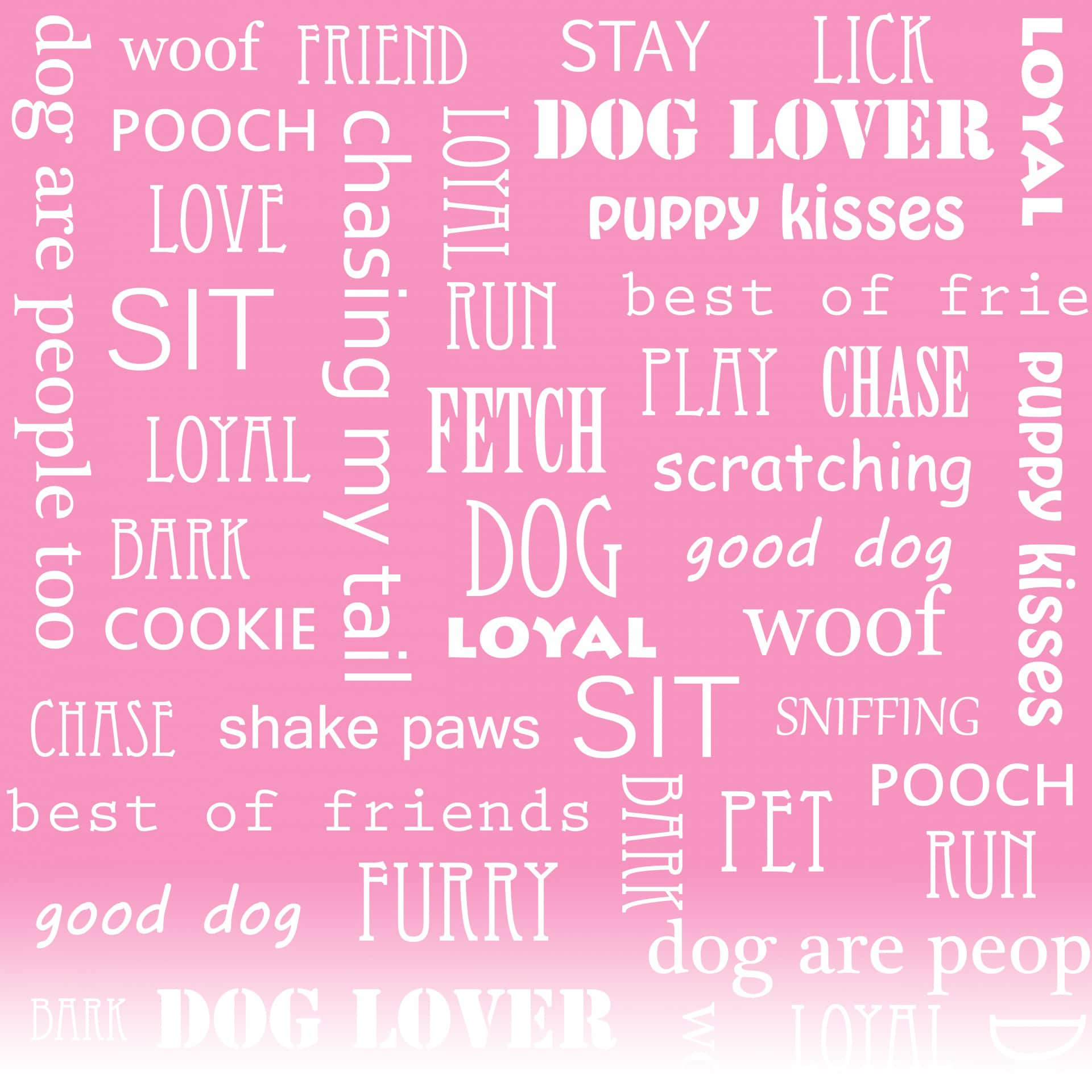 Words for Dogs